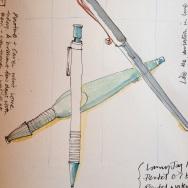 Pen, pencil, brush